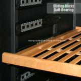 308L 106bottles удваивают оптовая продажа холодильника вина польностью стеклянной двери зоны миниая