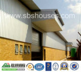Atelier en acier de bâti d'acier de construction de mur et de toit de tôle d'acier
