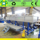 Poste industriel et feuille commerciale pp de clinquant de sachets en plastique réutilisant l'usine de lavage de film