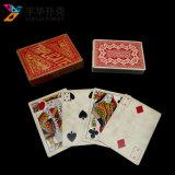 Изготовленный на заказ карточки печатание персонализированные изготавливанием королевские играя