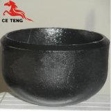 ステンレス鋼AISI 304の皿に盛られたエンドキャップの管の管の帽子