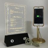 lader van de Bank van de Macht van het Menu van 3D LEIDENE de Lichte Restaurant van de Lamp voor iPhone7