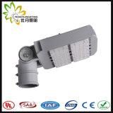 luz de calle al aire libre de 100W LED, lámpara de calle solar barata de la luz de calle del LED LED con la aprobación de Ce& RoHS