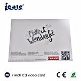 Module visuel neuf de carte de voeux de modèle/carte vidéo de Buiness/carte vidéo de Brithday