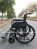 El desbloquear rápido, pulveriza el sillón de ruedas manual revestido