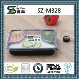 Pp.-Plastiktyp und Kunststoff-Mittagessen-Kasten mit Deckel