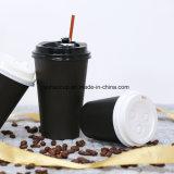 Tazza di caffè di carta di vendite calde con i coperchi