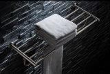 De muur zette het Rek van de Handdoek van de Badkamers van Roestvrij staal 304 op