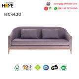 中国様式居間の家具(HC-K30)のための現代木ファブリックラウンジのソファー