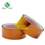 Poliamida de alta temperatura adhesivo resistente al calor de la cinta de oro para la impresora 3D plataforma / Tarea / Tarea de soldadura eléctrica