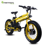 مزدوجة محرّك وبطارية حارّ عمليّة بيع [20ينش] سمين إطار العجلة درّاجة كهربائيّة