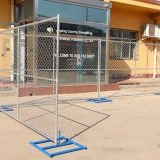 America Market Used Galvanized Temporary Chain Link Fence