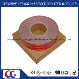 Matériau r3fléchissant auto-adhésif rouge solide