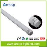 Luz de alumínio da câmara de ar do diodo emissor de luz da tampa G13 T8 do PC