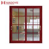 Раздвижная дверь классицистической конструкции Китая стеклянная для балкона