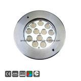 IP68 24V en acier inoxydable 316 RVB Pool subaquatique de lumière à LED