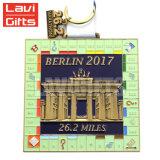 공장 가격 도매 주문 금속 포상 장식 메달 상자