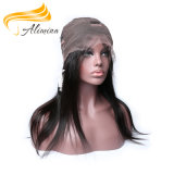 Alimina 머리 인도 Virgin 사람의 모발 가득 차있는 레이스 가발