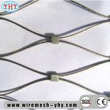 Rede protetora flexível da corda de fio de aço