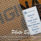 À armure toile en acier inoxydable 304 Chiffon en treillis métallique