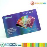 Carte à puce d'IDENTIFICATION RF de fréquence ultra-haute + carte classique de PVC 1K de MIFARE