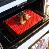 Кухня Non-Stick пирамиды доски силиконового герметика здоровой пищи для выпекания коврик с пирамидальной поверхности