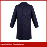 Pardessus unisexe de travail de polyester bon marché de coton de vente en gros d'usine de Guangzhou (W254)