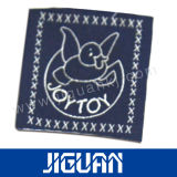 Etiquetas tecidas de Qaulity boa seda Eco-Friendly excelente