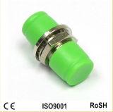 FC/APC Verde D pequeño adaptador de fibra óptica