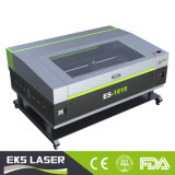Cuir synthétique et gravure de coupe de la machine machine au laser CO2 pour le haut de la vente