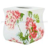 Accessorio di ceramica della stanza da bagno della decalcomania del prato di rotolamento per gli articoli domestici della toletta