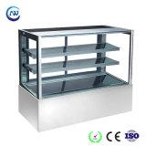 Gâteau d'affichage commercial réfrigérateur congélateur vitrine à pâtisserie dessert(RL770V-S2)