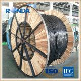 600V 4X70 Câble en aluminium avec isolation XLPE câble électrique fabricant de Shanghai