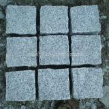 정원사 노릇을 하거나 주차하거나 차도 또는 보도를 위한 회색 색깔 화강암 입방체 또는 연석 또는 Cooble 또는 포석