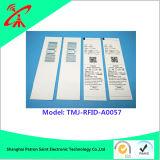 Étiquette d'IDENTIFICATION RF de fréquence ultra-haute avec la puce étrangère d'ISO18000-6c et la puce d'Impinj