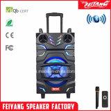 Nieuwe Stijl Karretje Bluetooth spreker-F12-22 van Lound van de Macht van 12 Duim het Navulbare Grote Draagbare