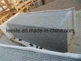 工場床の敷物のタイルのための直接G623銀製灰色の花こう岩のステップ石造りの平板