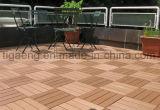 Le WPC Decking de verrouillage de tuiles de bricolage pour l'extérieur des revêtements de sol
