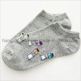 普及した木靴の高品質キャンデーカラー子供の綿のソックス