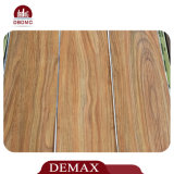 Plancher commercial imperméable à l'eau en bois de PVC de teck de qualité supérieure
