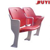 Blm-4351 Asientos de plástico resistente para el Bus Rojo descansar los pies del cojín del asiento del estadio plegable silla de aluminio