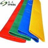 Rouge Layflat en PVC flexible de décharge de l'eau pour irrigation