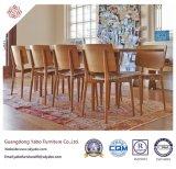 Künstlerische Gaststätte-Möbel mit den Stuhl-Möbeln eingestellt (YB-B-37)