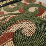 Tessuto di Jacqaurd del Chenille di colore verde per mobilia (FTH31406)