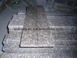 Het roze Stootbord van het Graniet van Kleuren G664, Loopvlak, Trede, de Tegels van de Vloer/van de Muur, de BuitenTegels van de Bevloering