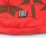 Chapeau chaud tricoté promotionnel tricoté chaud de l'hiver de crochet de chapeau de Beanie de chapeau de Beanie de l'hiver fait sur commande en gros