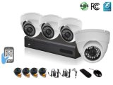 cámaras de seguridad del CCTV del canal del kit 4 de 1080P Ahd DVR