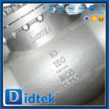 Didtek fuera de la válvula de globo industrial de Wcb del tornillo