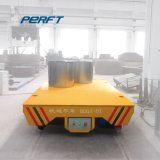 Electric Powered wagon de transport à galet en acier