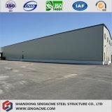 Sinoacme Strucuture prefabricados de acero de la luz de almacén para el almacenamiento de mercancías